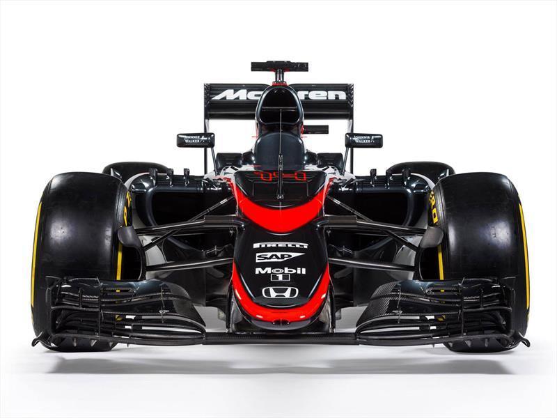 La nueva decoración del McLaren MP4/30