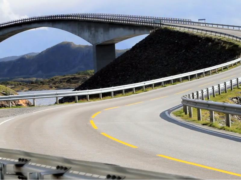 Una las carreteras más peligrosas del mundo