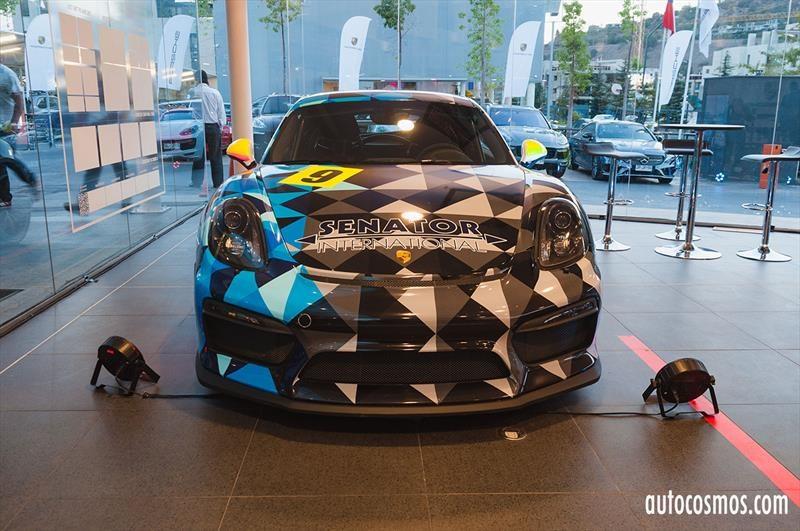 Porsche Cayman GT4 Challenge 2017
