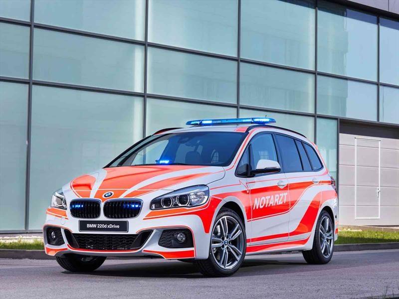 Los vehículos de BMW para el RETTmobil 2017