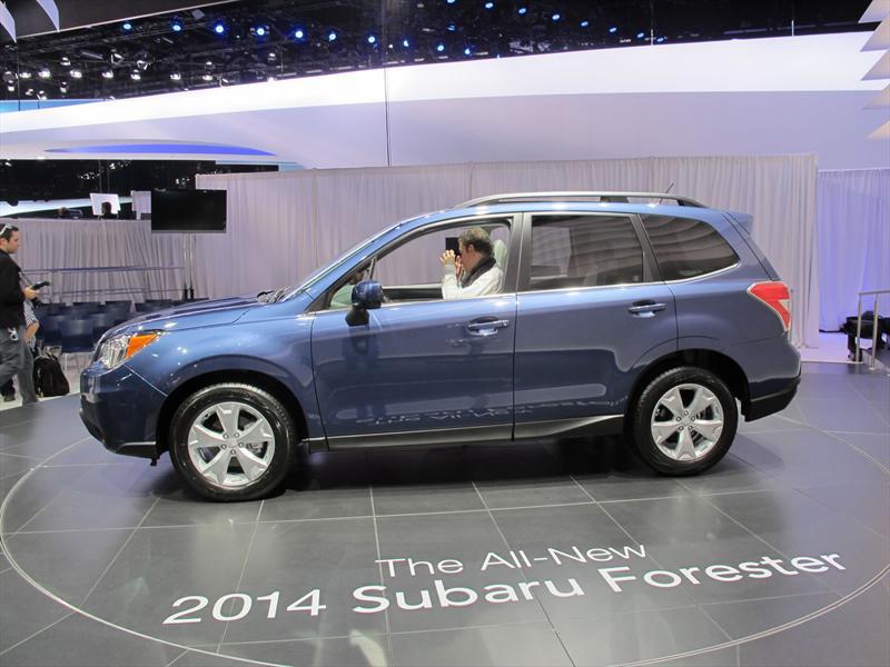 Subaru Forester 2014 en el Salón de los Ángeles