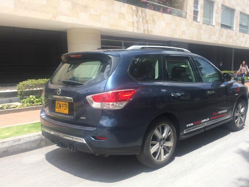 Nissan Pathfinder, a prueba