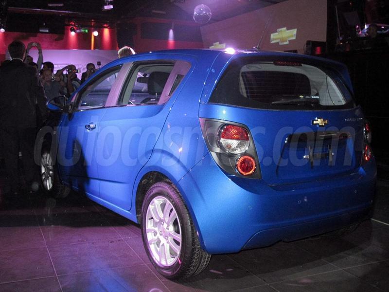 Chevrolet Sonic, presentación en Argentina 2012
