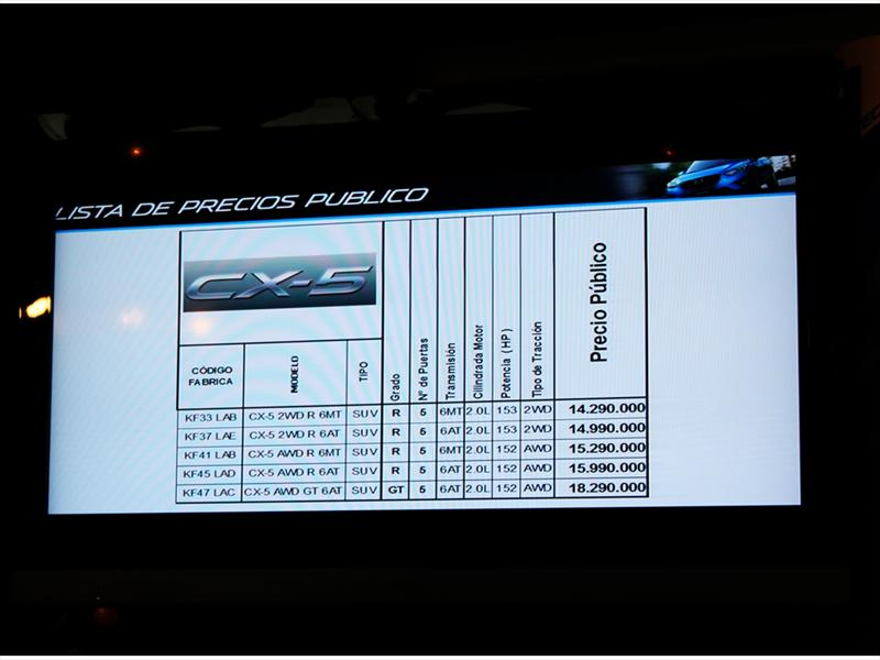 Mazda CX-5 Lanzamiento en Chile