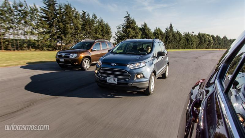 Chevrolet Trax vs Ford Ecosport vs Renault Duster