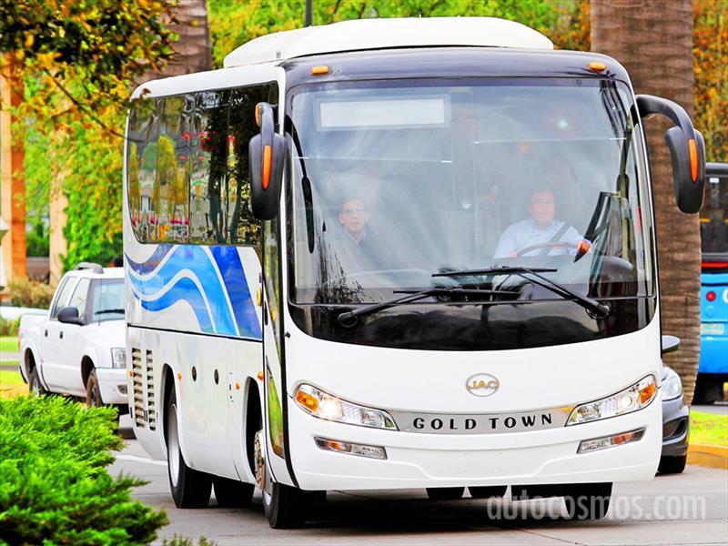 Bus JAC Línea Gold Town Lanzamiento en Chile