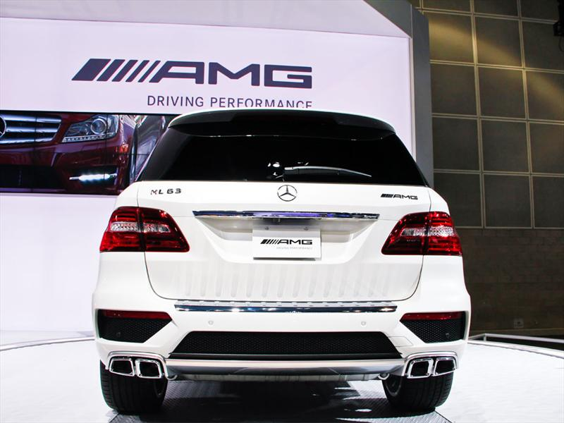 Mercedes-Benz ML 63 AMG Salón de Los Angeles