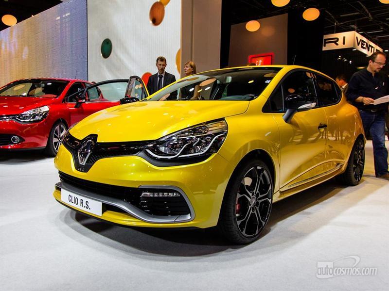 Renault Clio IV RS 200 en París 2012