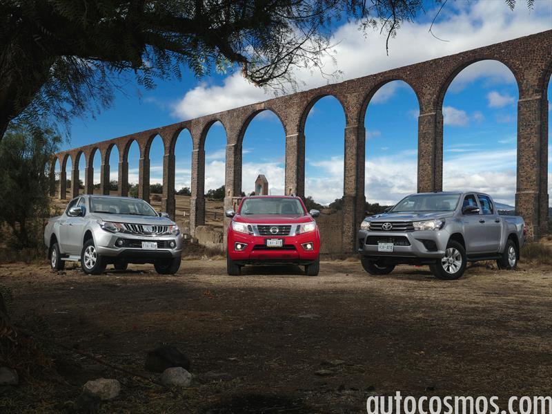 Nissan NP300 vs Toyota Hilux vs Mitsubishi L200