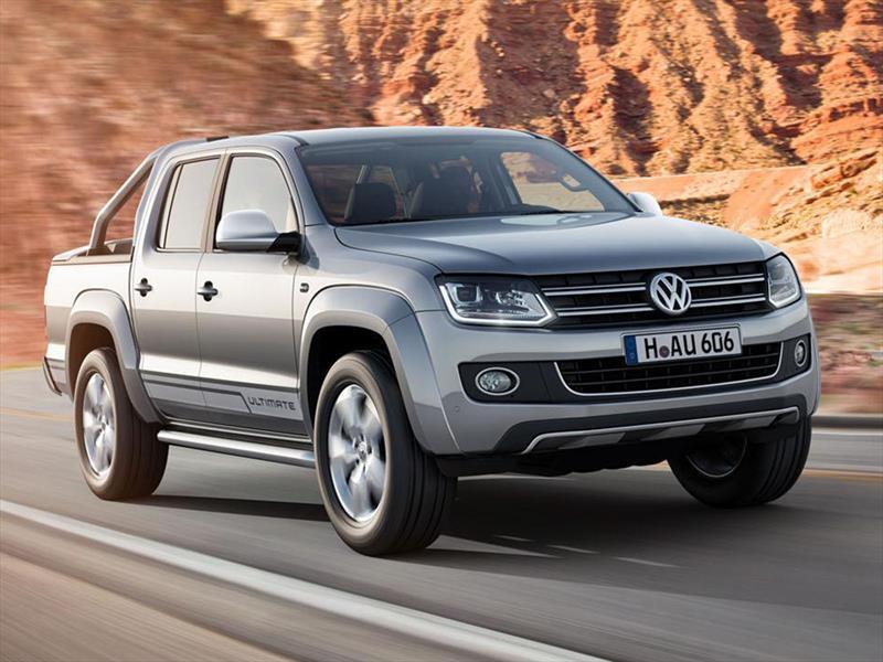La VW Amarok recibe faros con LED y xenón