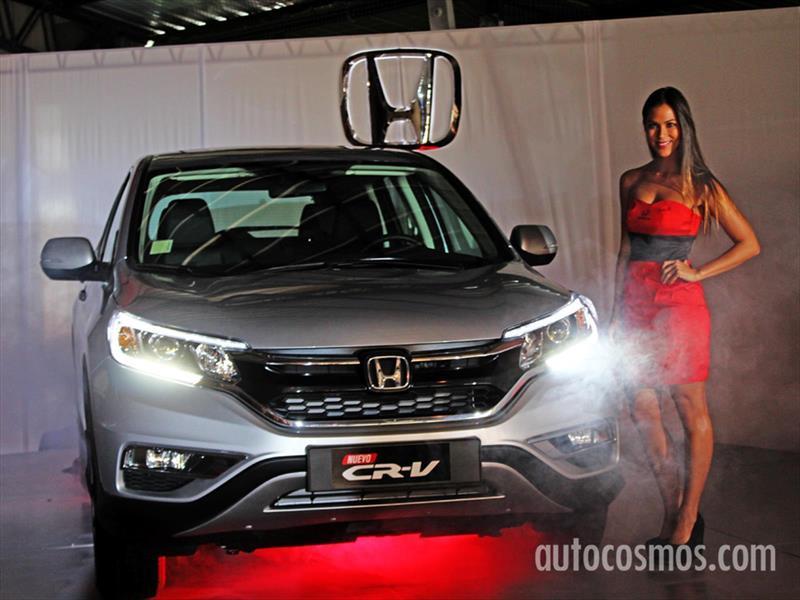 Nuevo Honda CR-V 2015 Estreno en Chile