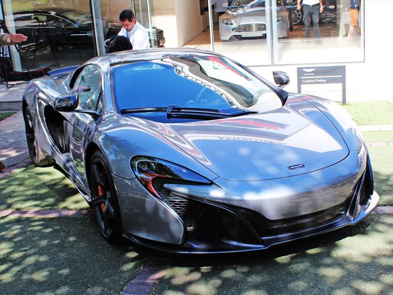 McLaren 650S Spider Lanzamiento en Chile