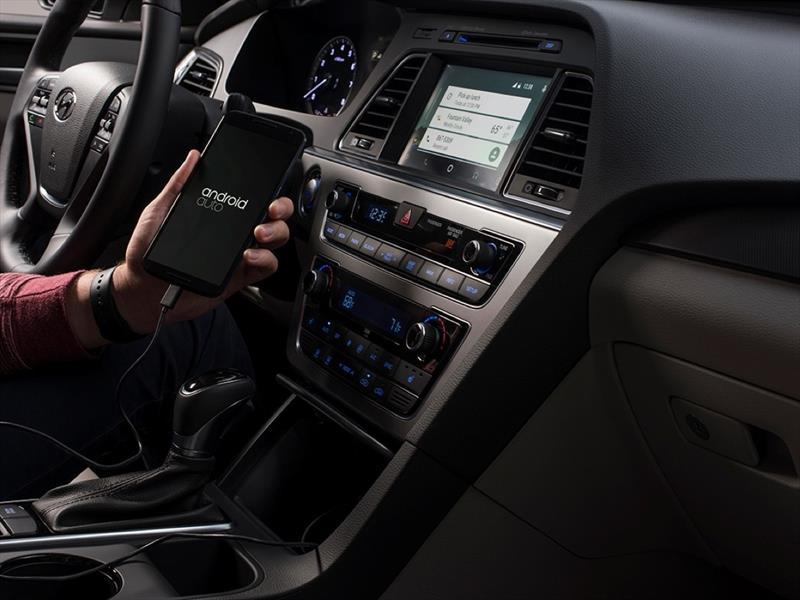 Hyundai Sonata 2015  con Android Auto