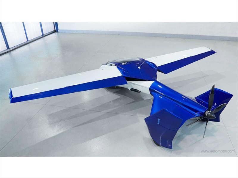 AeroMobil, el auto volador