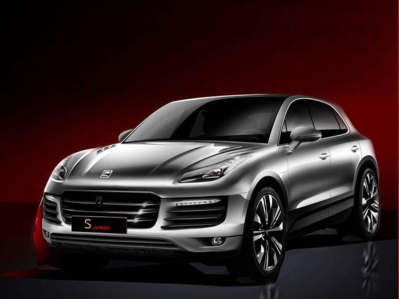Zotye SR8: El clon chino del Porsche Macan