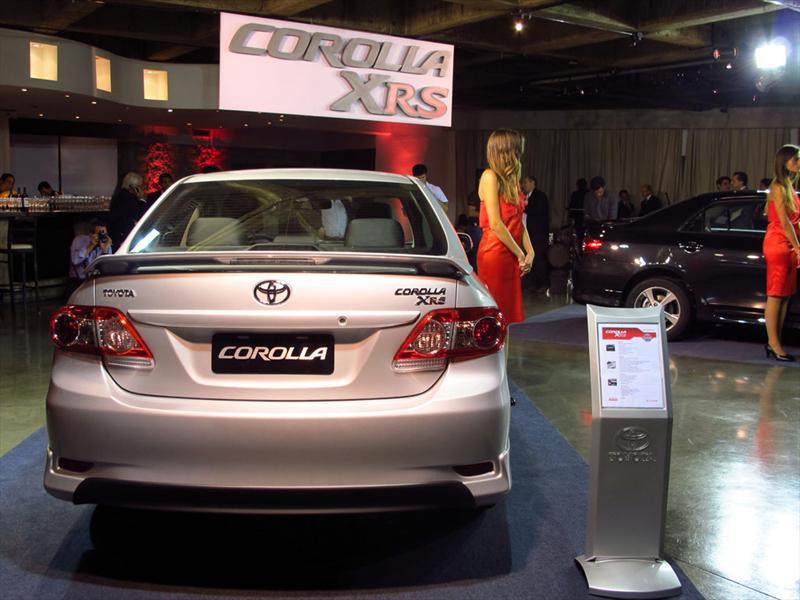 Lanzamiento nuevo Toyota Corolla XRS 2012