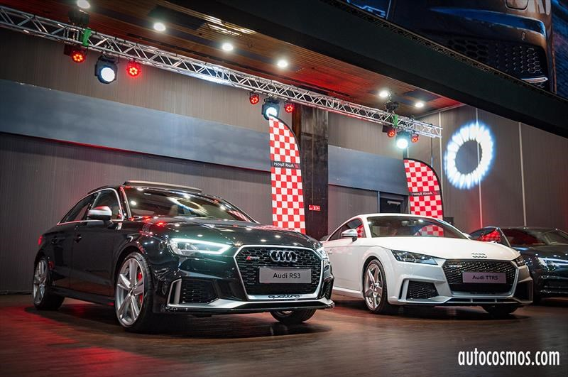 Lanzamiento Audi RS3, TT RS (2017)