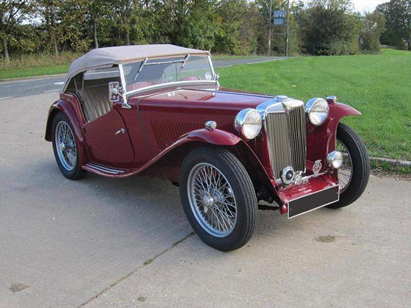 14. MG TC 1946
