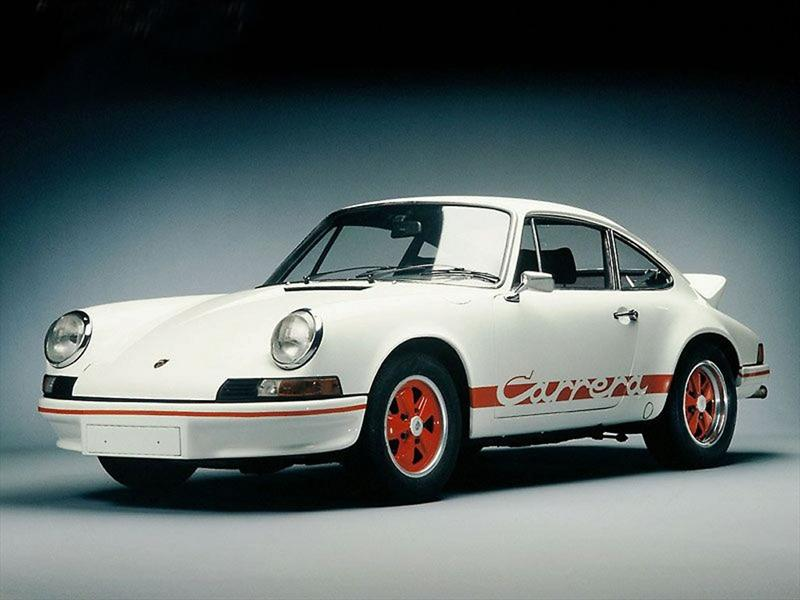 2. Porsche 911 Carrera RS Lightweight 1973