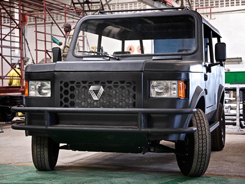 La SUV económica de Mobius Motors para África