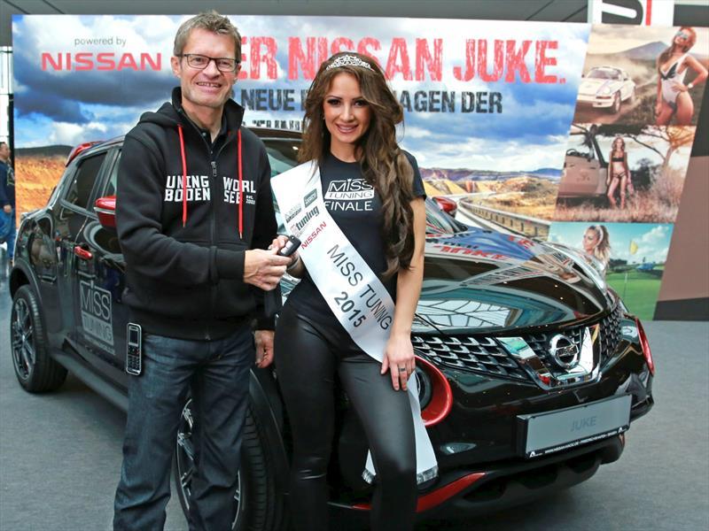 Liane Günter es la ganadora de Miss Tuning 2015