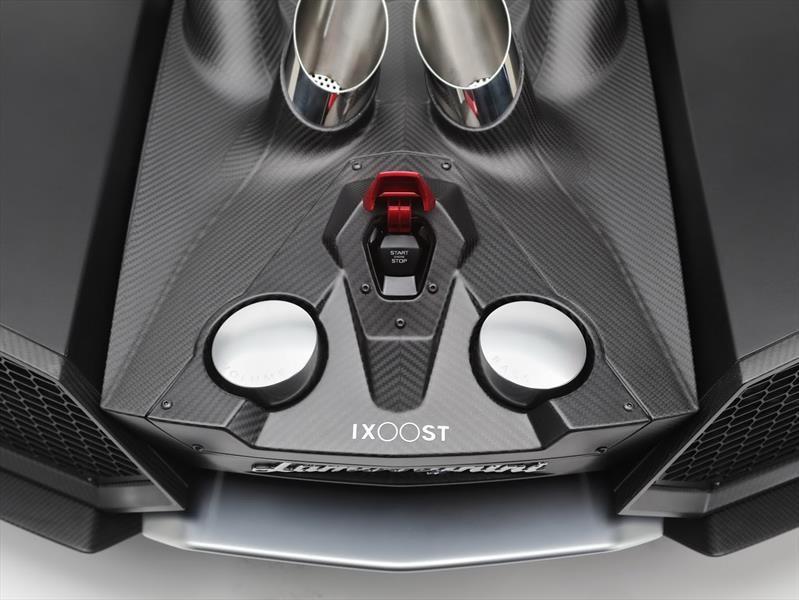Bocina inspirada en el Lamborghini Aventador
