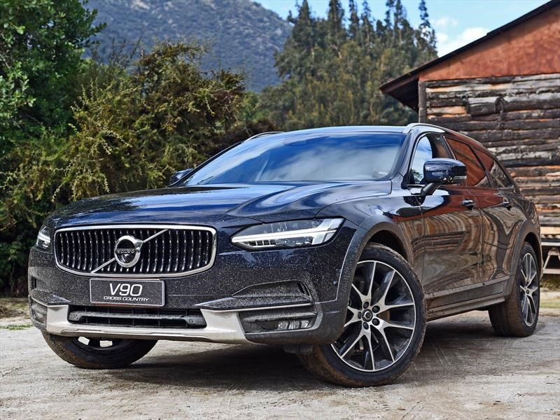 Volvo V90 Cross Country, test drive