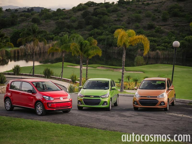Comparativa: Spark VS Volkswagen up! VS Grand i10