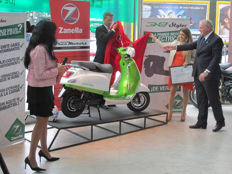 Zanella e-Styler, presentación