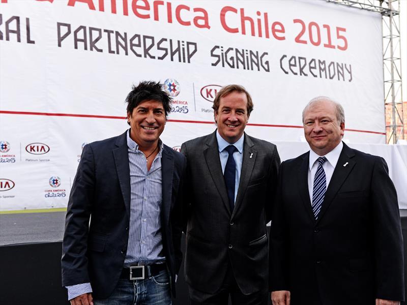 Kia auspicia Copa América 2015