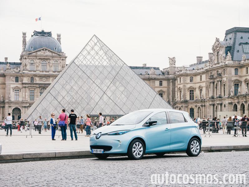 Renault Zoe en París