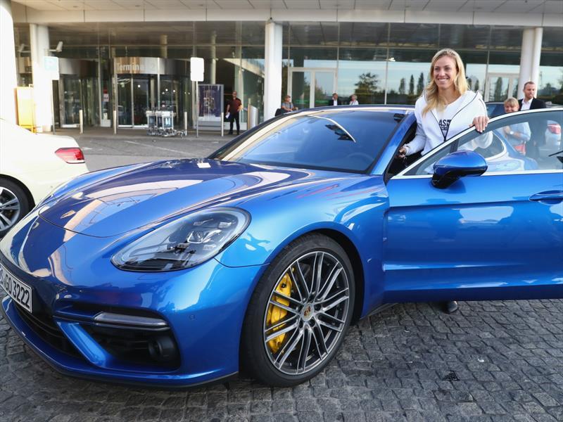 Porsche Panamera Turbo de Angelique Kerber