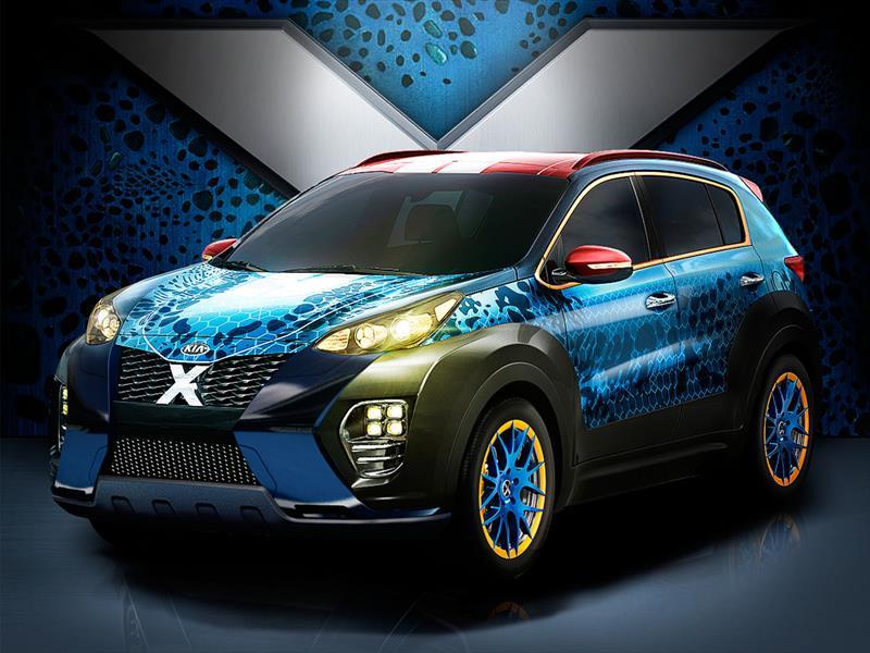 Kia X-Car Sportage inspirada en Mystique