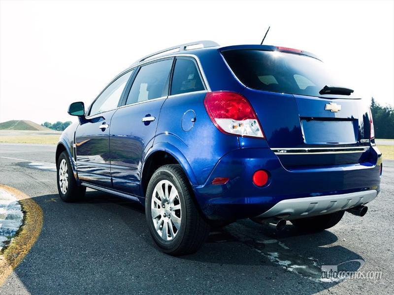 Chevrolet Captiva 2012 a prueba