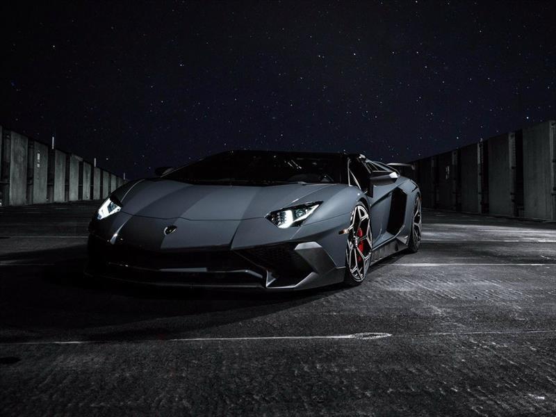 Lamborghini Aventador Roadster SV por Novitec