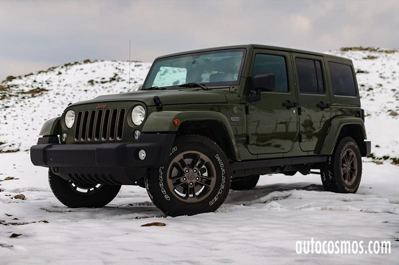 Test Drive: Jeep Wrangler Unlimited 75 Aniversario
