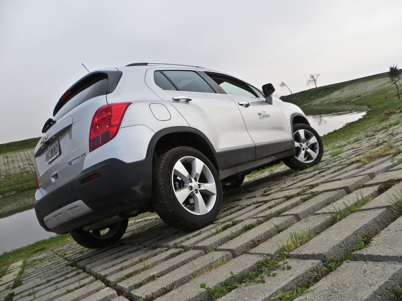 Chevrolet Tracker a prueba