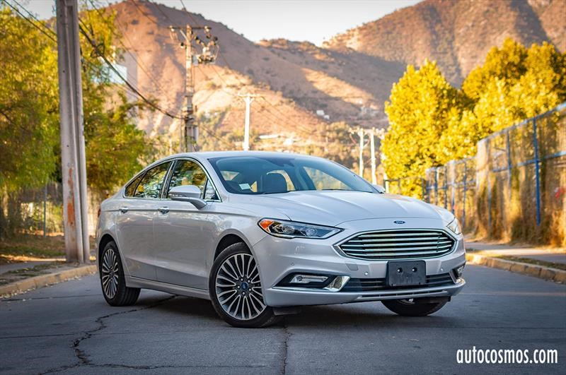 Test Drive: Ford Fusion 2017