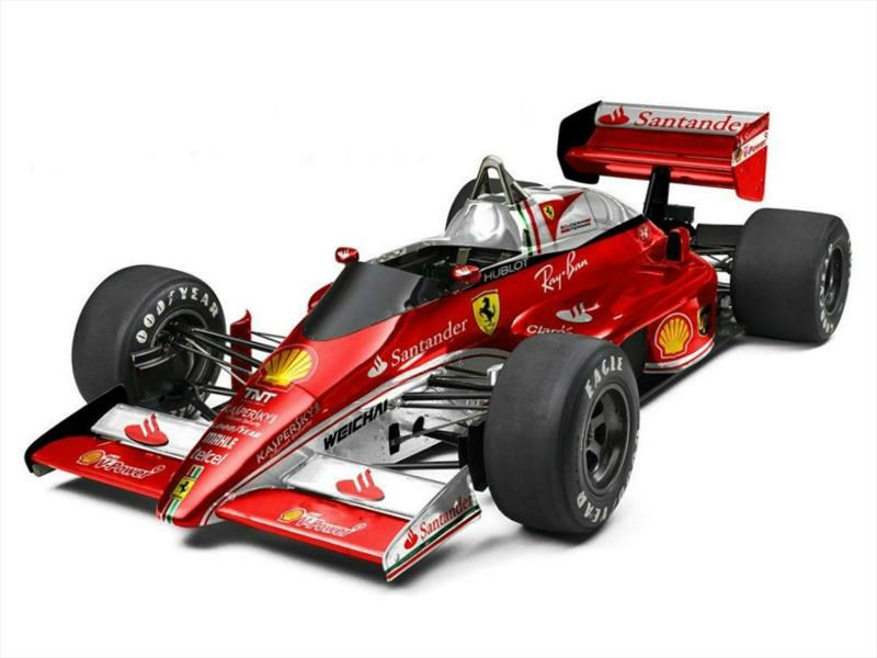 Fórmula 1 de los 80 con gráficos actuales
