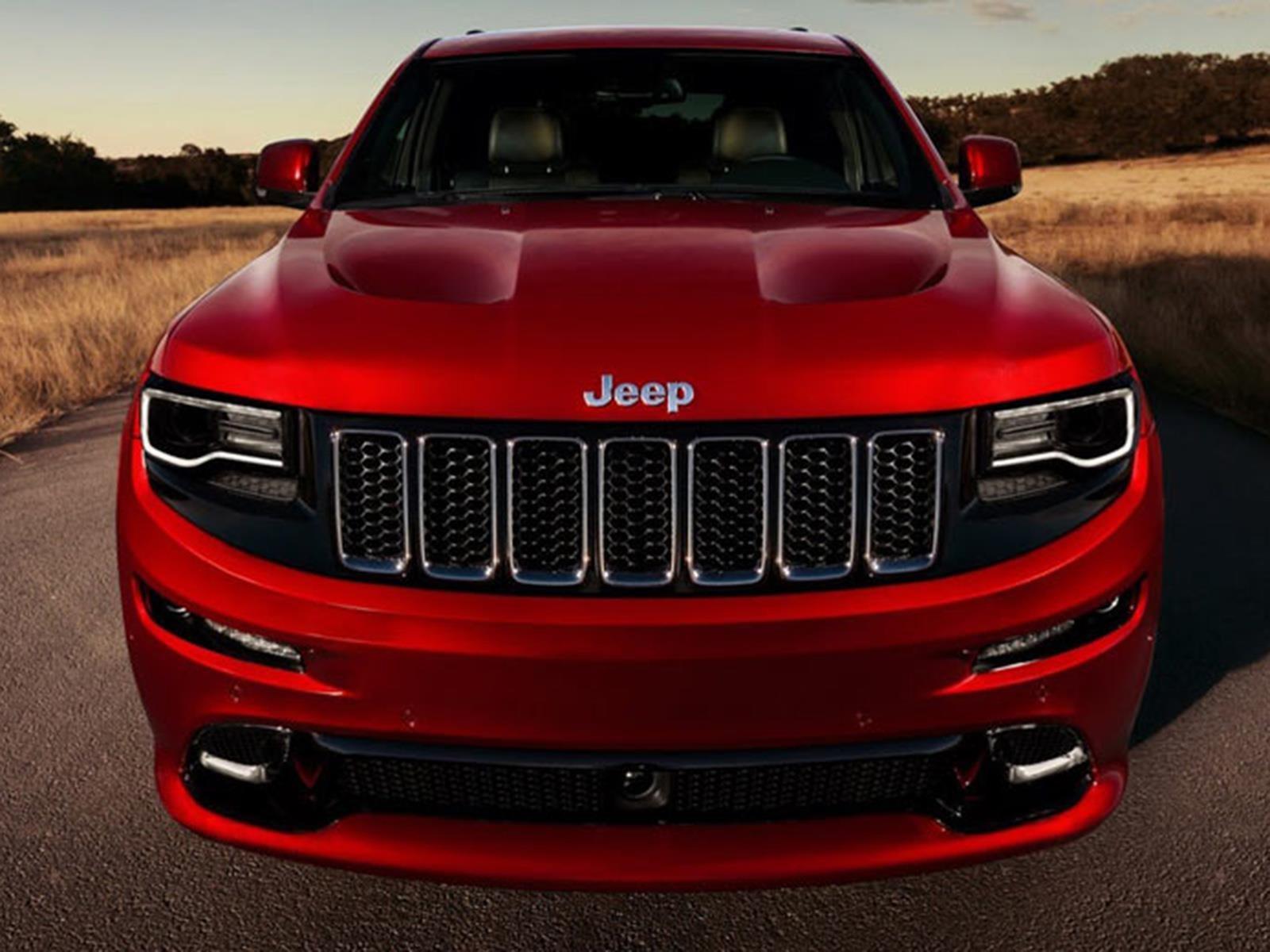 Un Jeep Grand Cherokee con el V8 del Hellcat