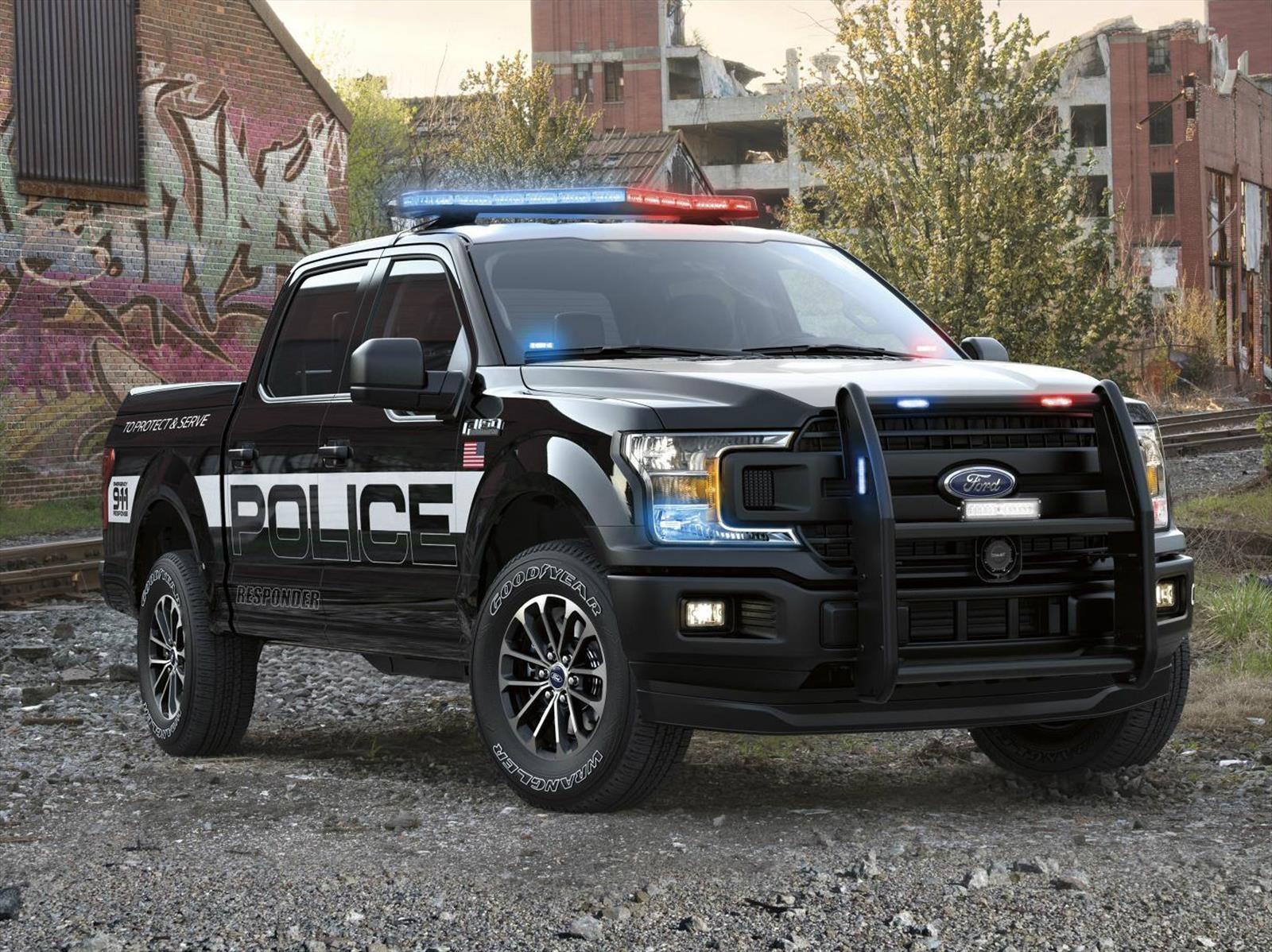 Ford F-150 Police Responder 2018, una camioneta de la que no podrás escapar