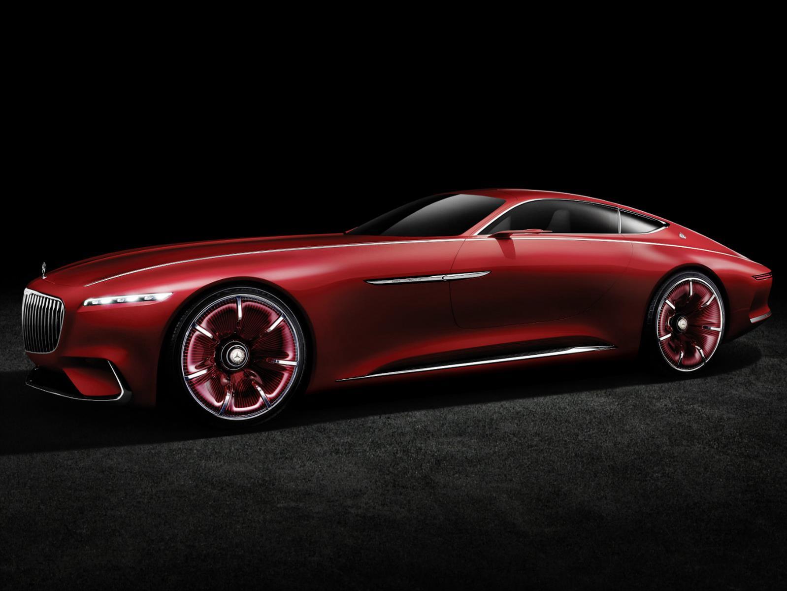 Vision Mercedes-Maybach 6 en Pebble Beach 2016