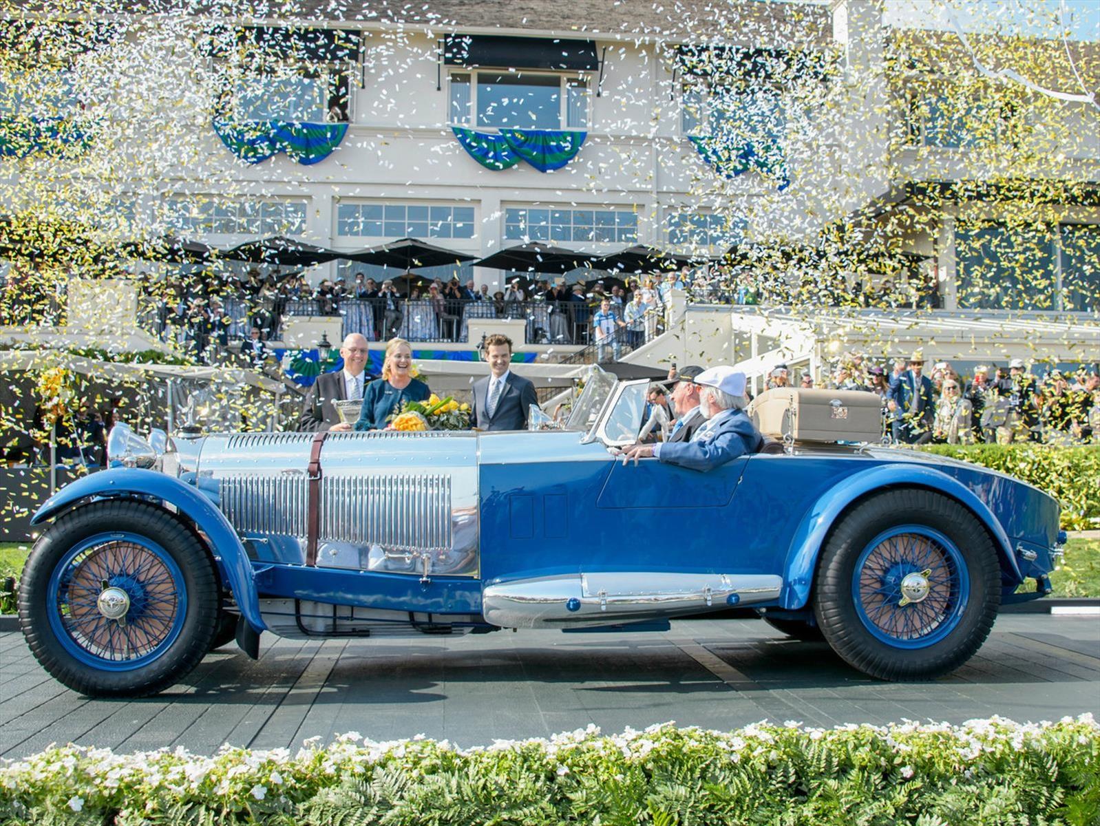 Mercedes-Benz S Barker Tourer 1929 es el Best of Show de Pebble Beach 2017