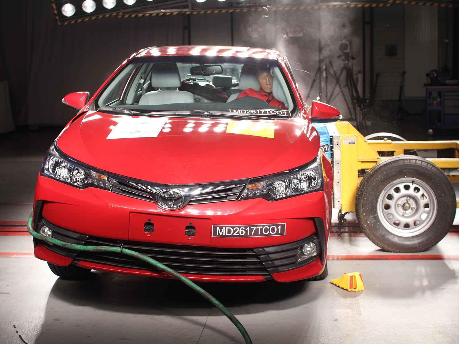 Latin NCAP le da cinco estrellas al Toyota Corolla