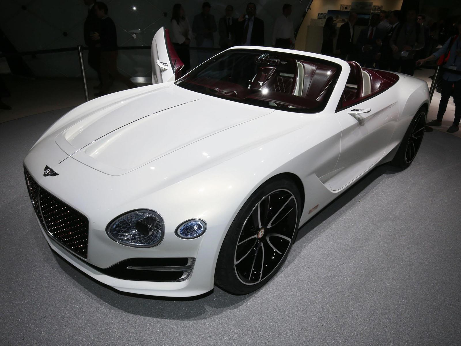 Bentley EXP12 Speed 6e Concept, el futuro es de las pilas