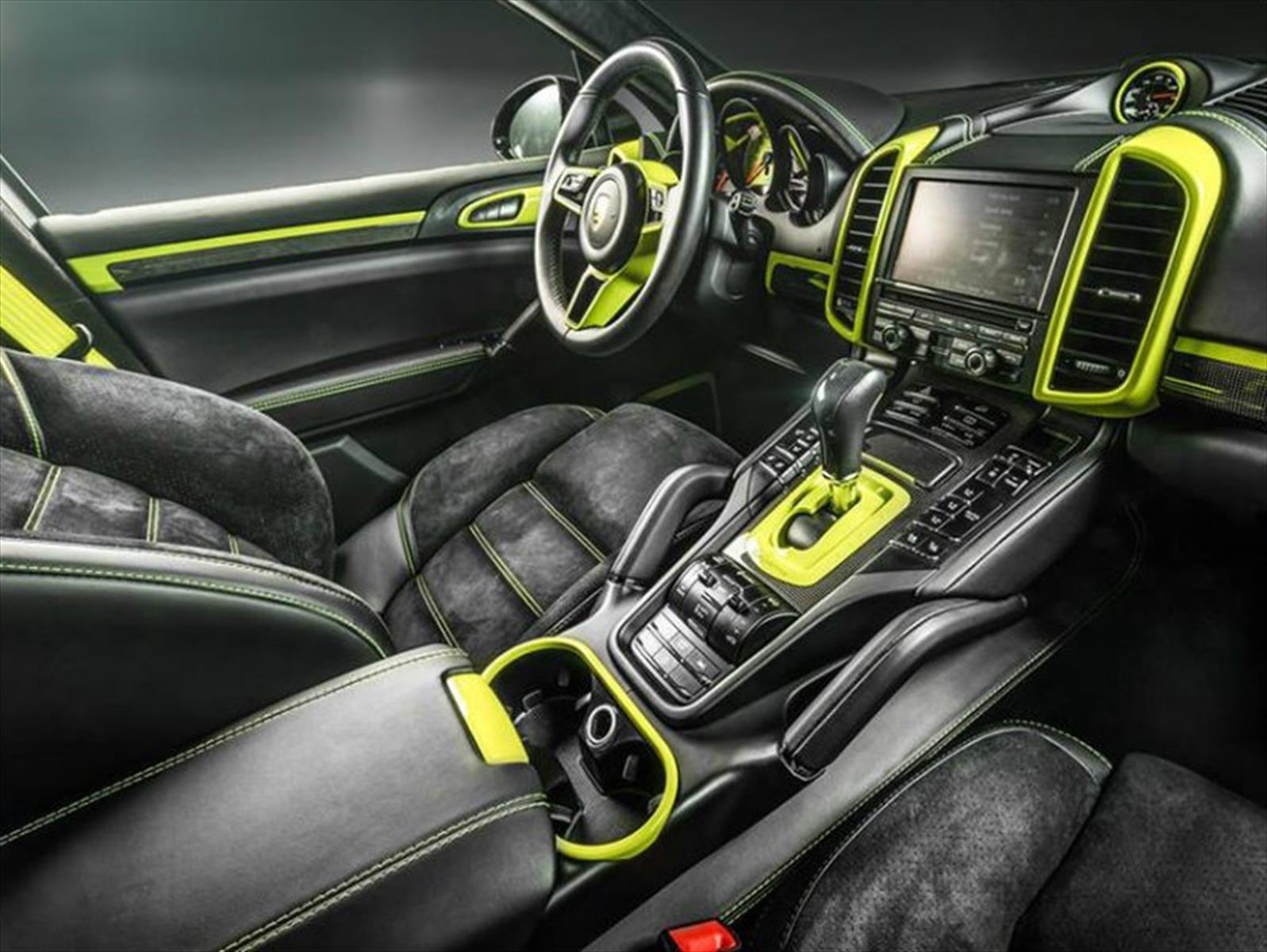 Porsche Cayenne por Carlex Design, mandale color