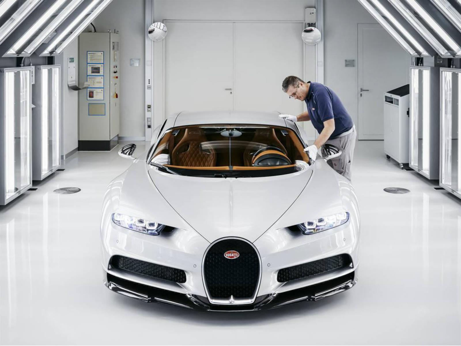25 cosas que no sabías de la producción del Bugatti Chiron