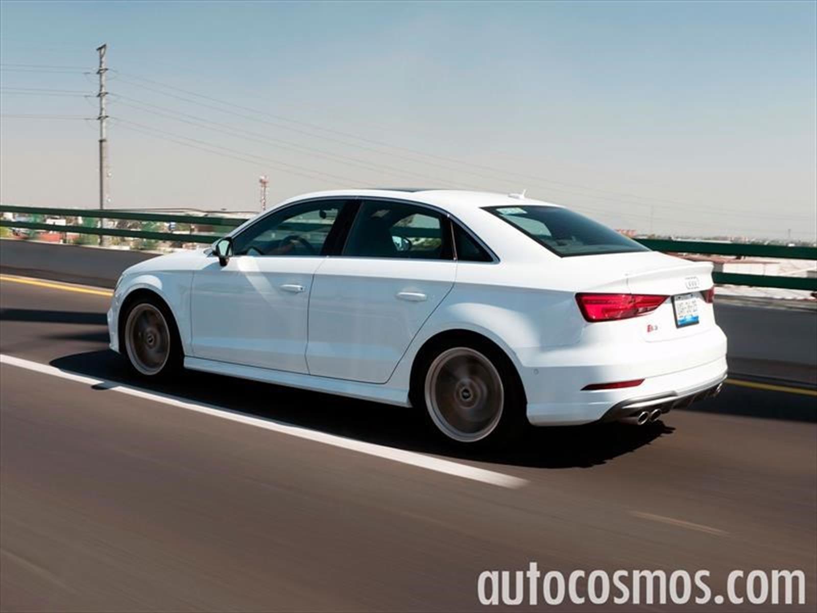 Audi S3 Sedan 2017 a prueba