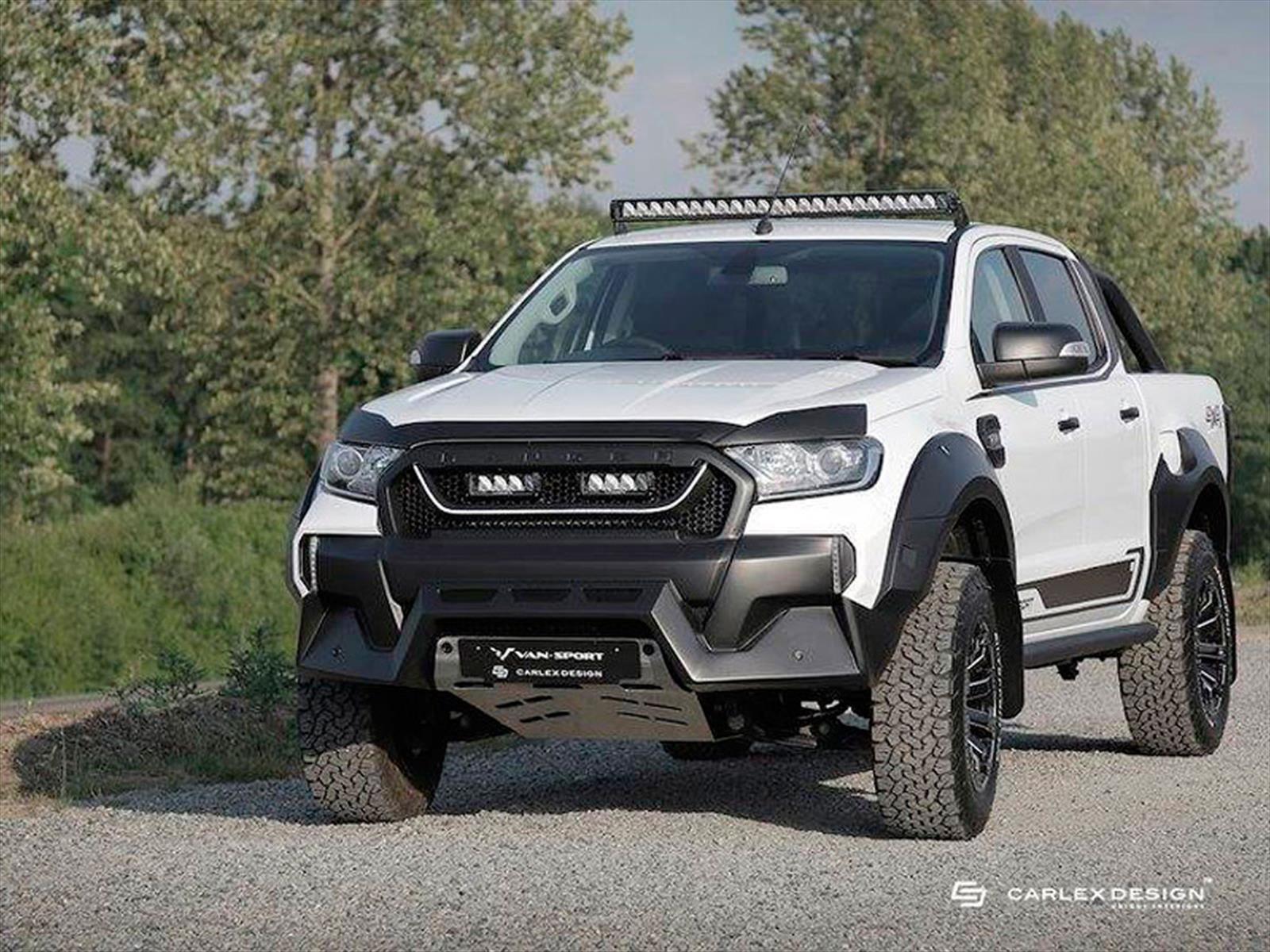 Ford Ranger M-Sport, la versión deportiva