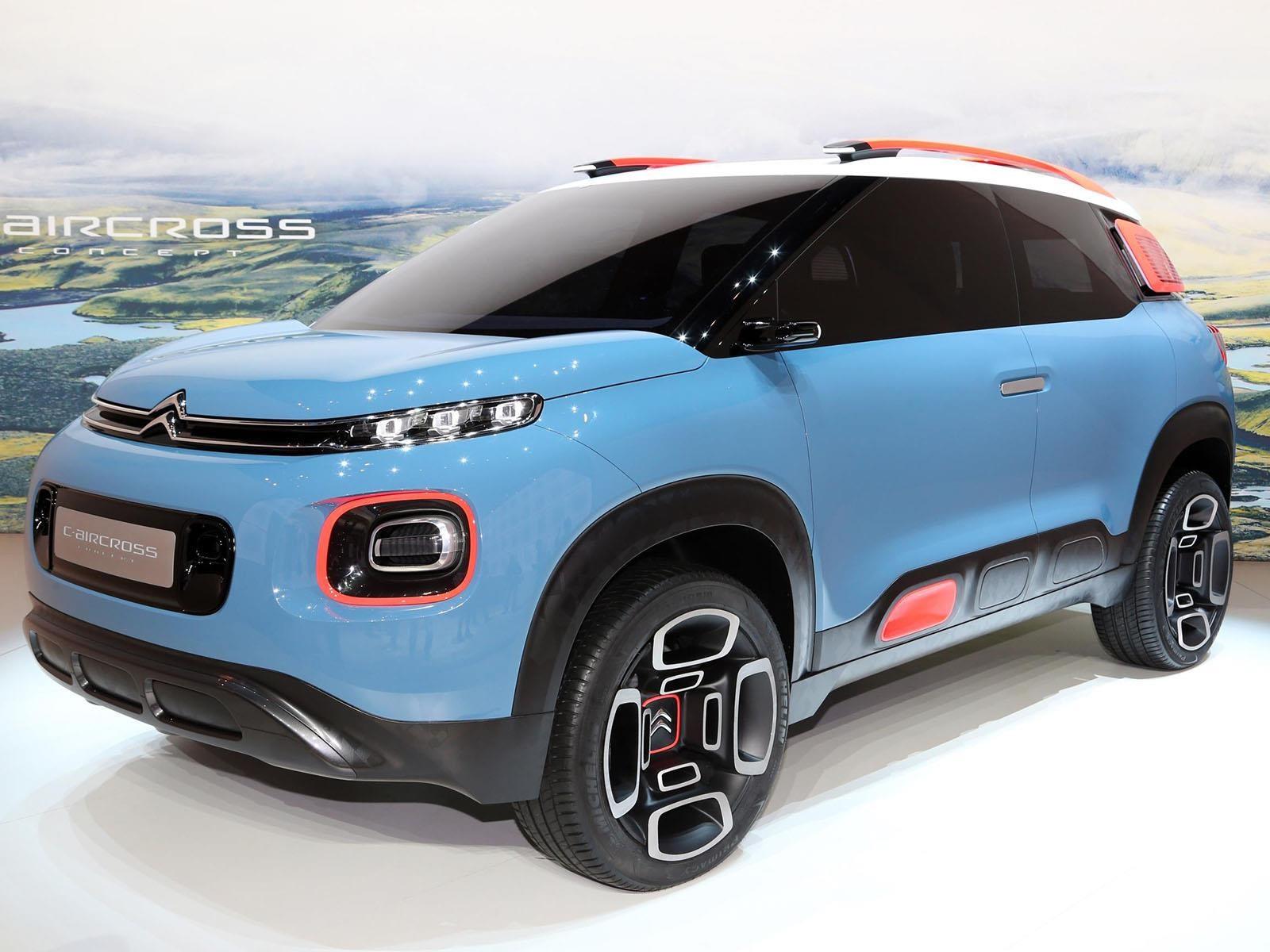 Citroën C-Aircross Concept debuta